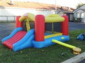 Used ONCE Little Tikes Jump 'n Slide Bounce House & Pump